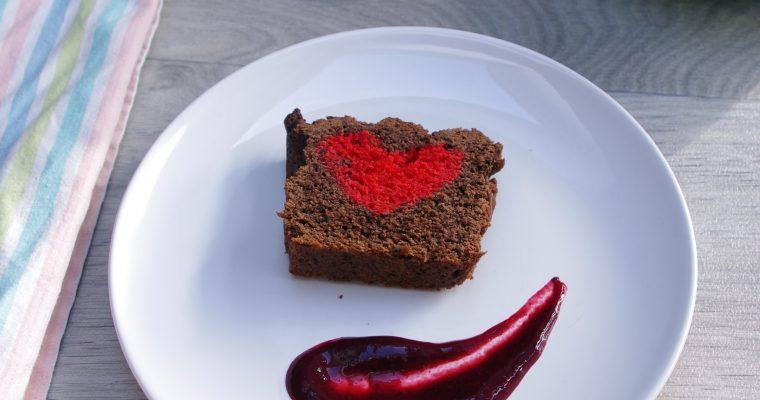 Love Cake chocolat/vanille : spécial Saint-Valentin