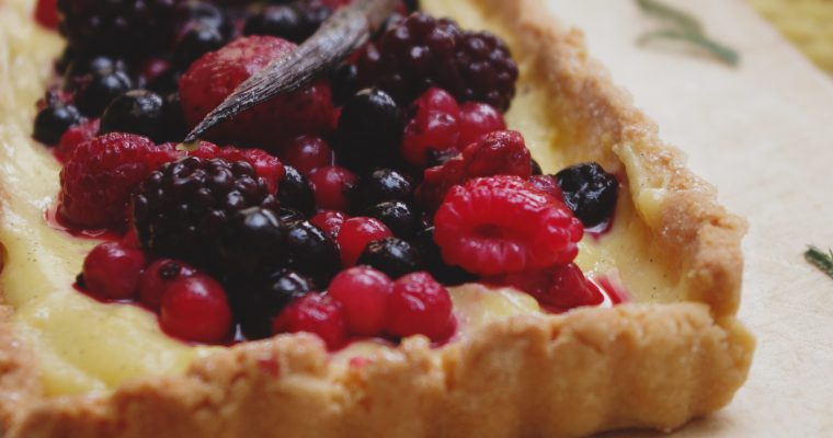 Tarte sablée aux fruits rouges