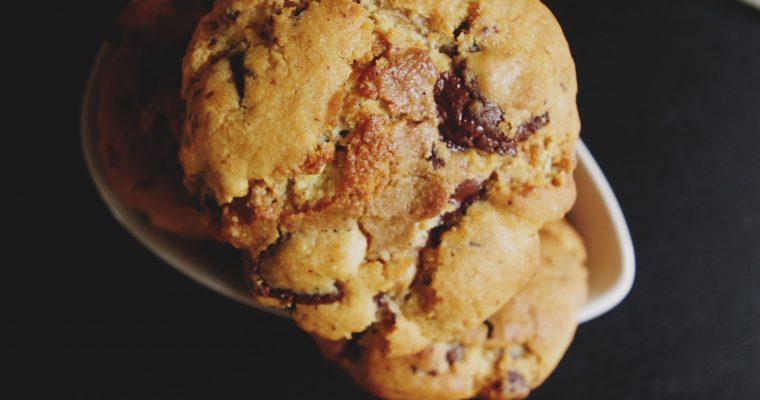 Cookies aux pépites de chocolat et praliné