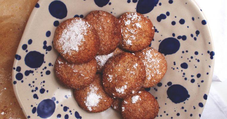 Les biscuits Amaretti
