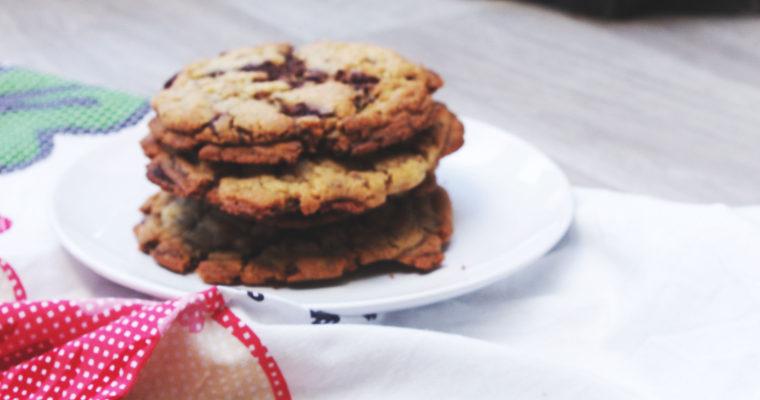Maxi cookies au pépites de chocolat